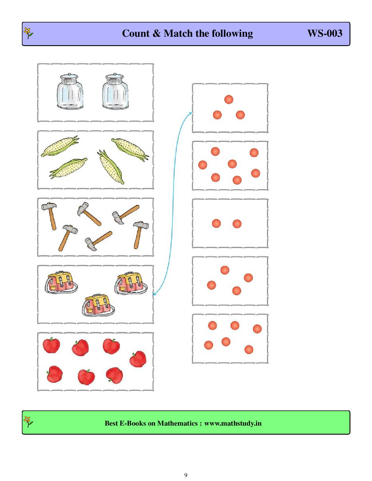1st grade place value and number charts worksheets