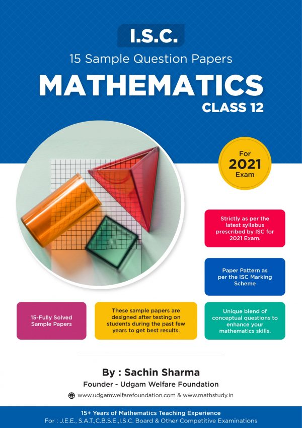 ISC SAMPLE PAPER CLASS 12 MATHEMATICS