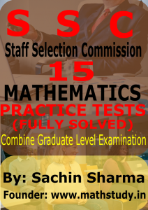 COMBINE GRADUATE LEVEL EXAM MATHEMATICS SAMPLE PAPERS