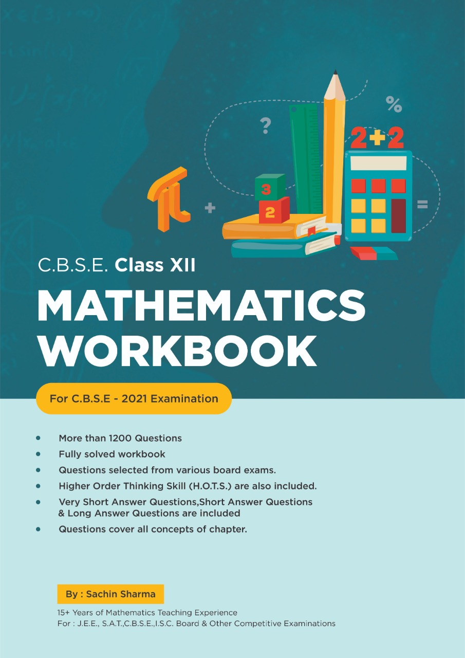 MATHEMATICS WORKBOOK CLASS 12 CBSE