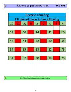 download cbse class 1 maths class test worksheets